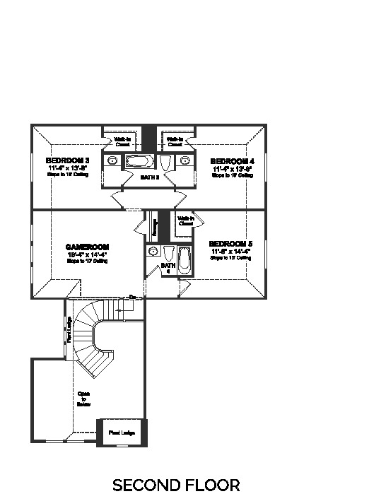 Heatherwood Langston Page 2 Floor Plan Friday