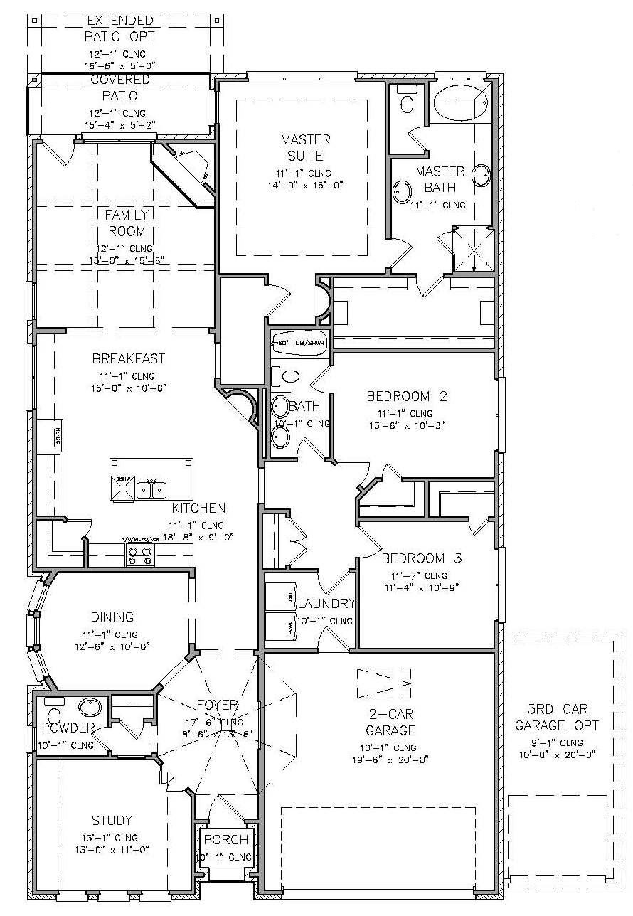 Woods Of Britton Floor Plans
