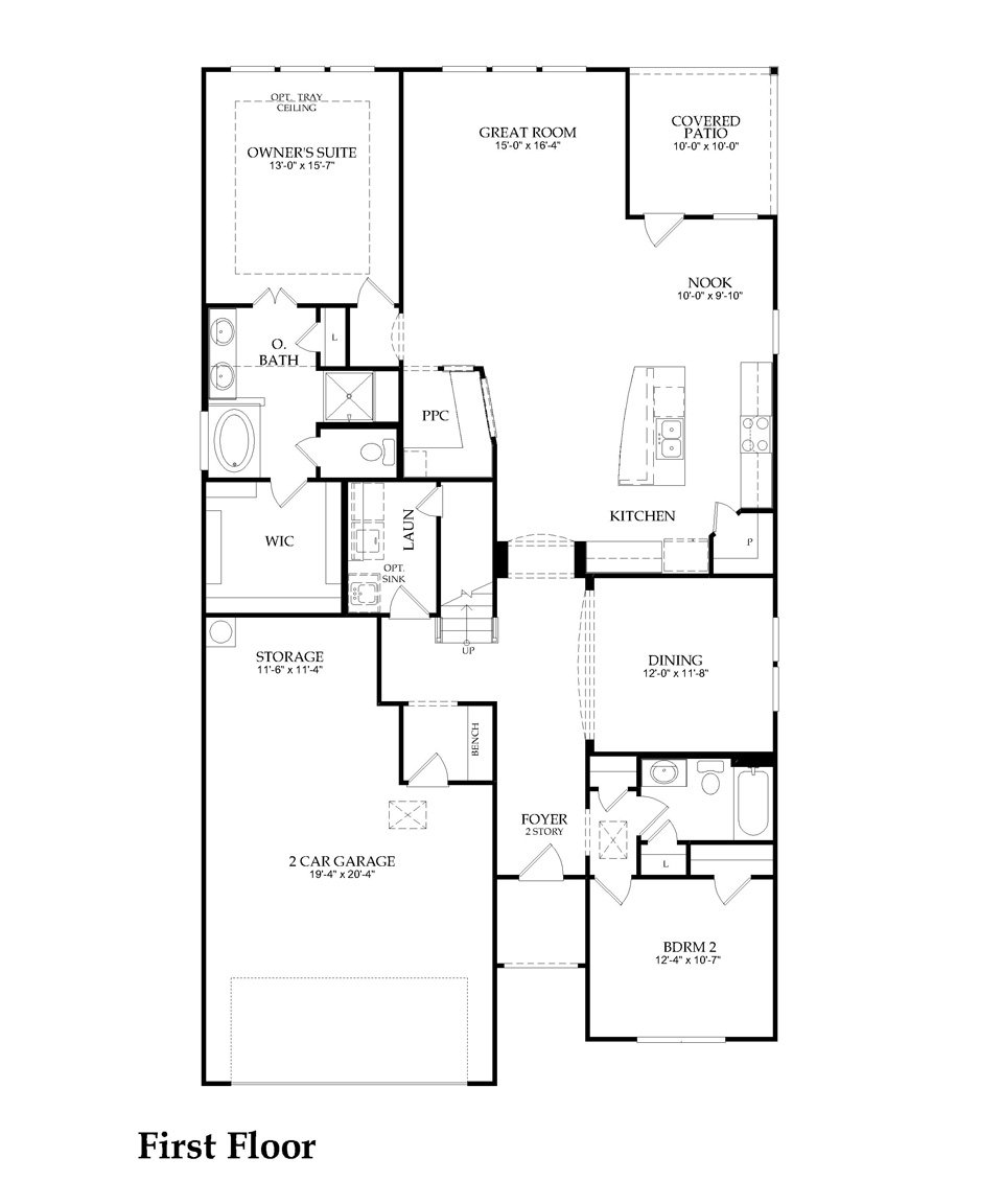 Carissa by Pulte Homes Floor Plan Friday – Pulte Homes Ranch Floor Plans