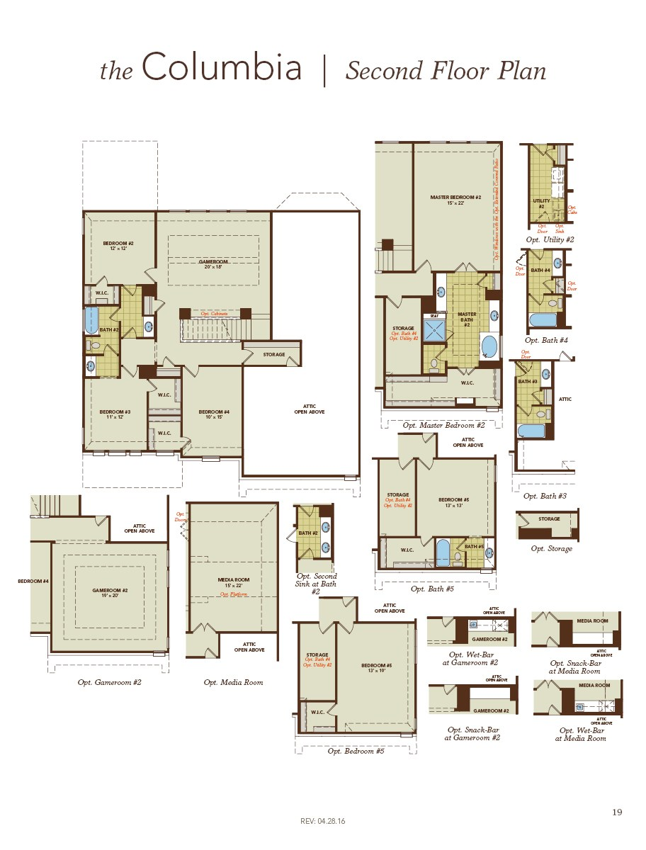 Gehan Homes Archives Floor Plan Friday