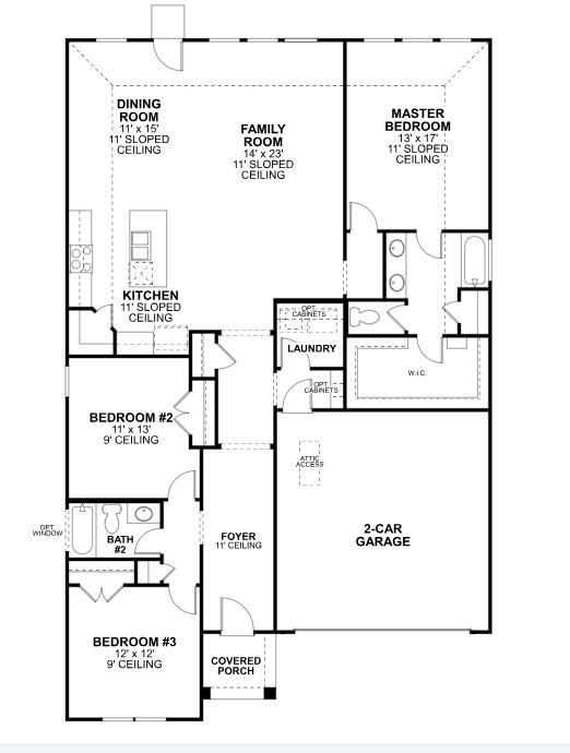 Rockhill By Mi Homes Floorplan 2 Floor Plan Friday